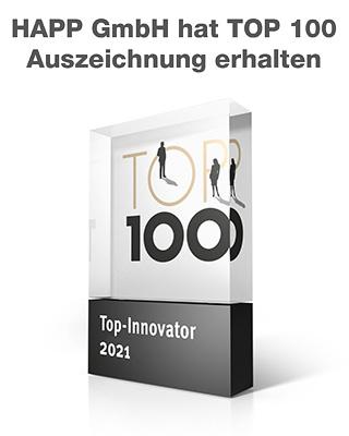 HAPP GmbH hat TOP 100 Auszeichnung erhalten