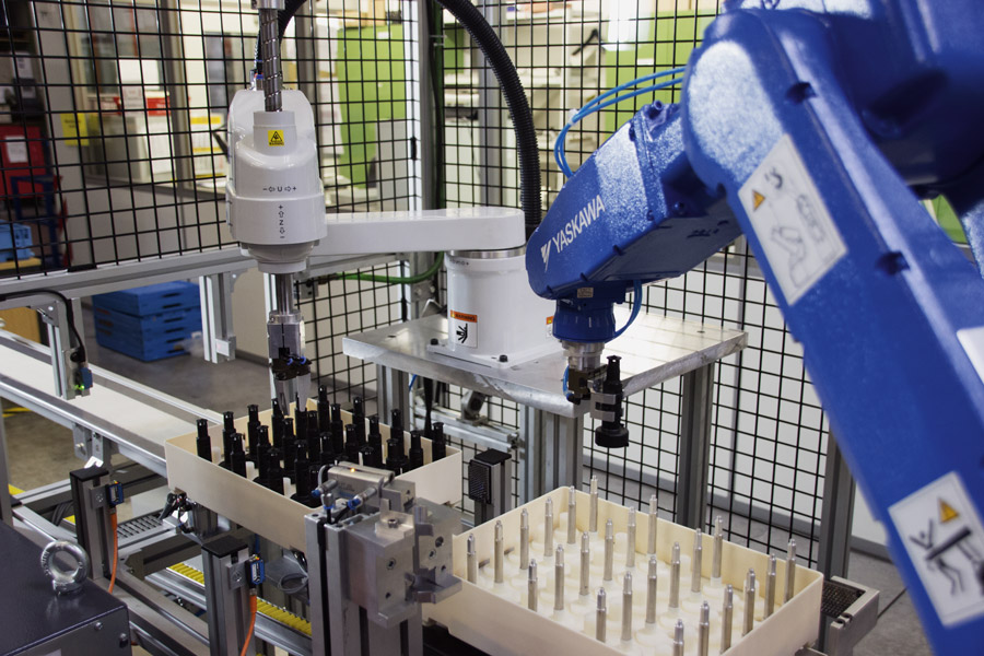 Automatisierte Montage