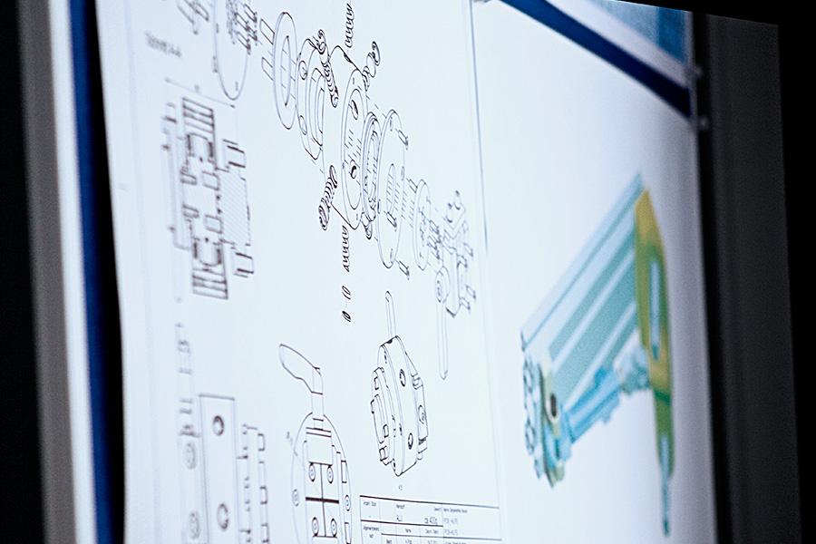 CAD - Konstruktionszeichnungen