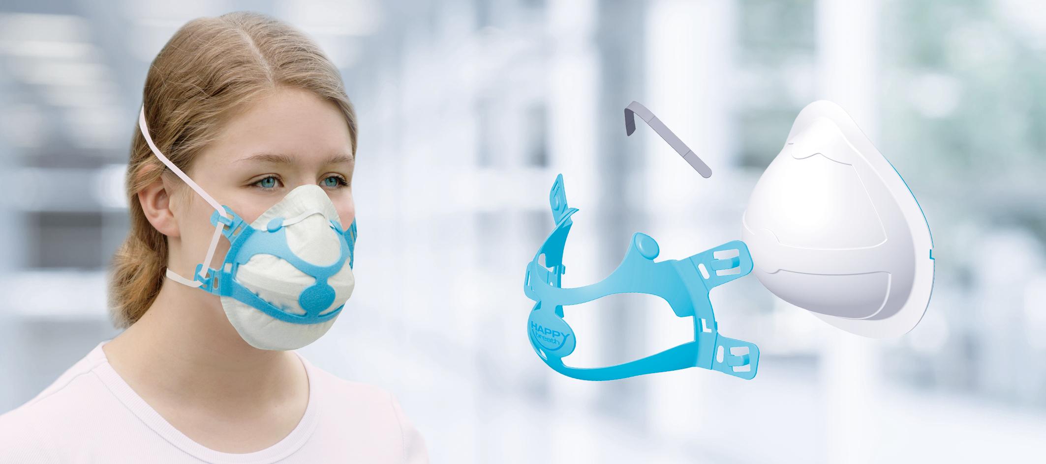 Happy Breath - Tragebeispiel