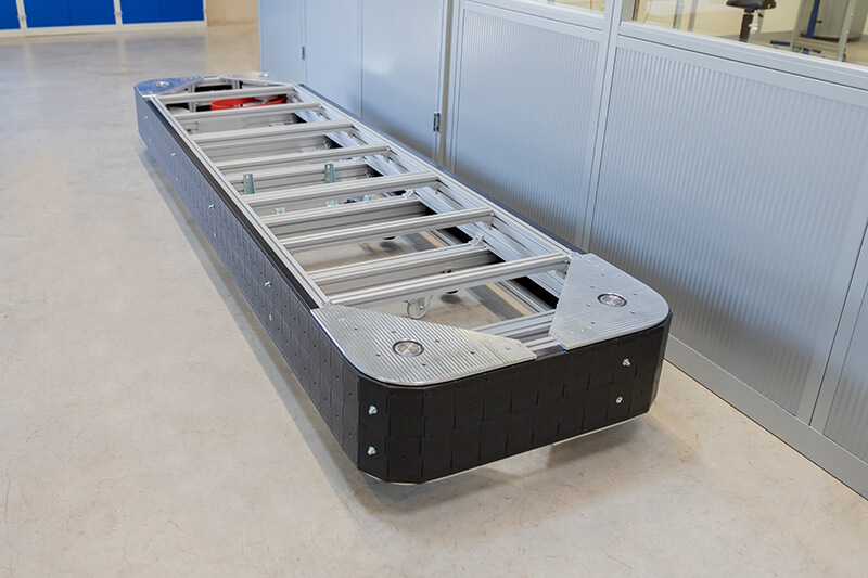 Modulkettenband Prototyp